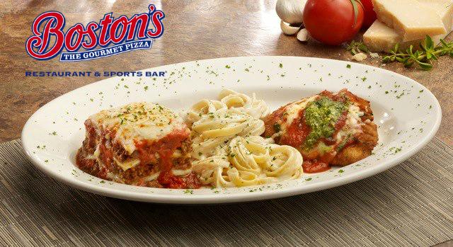 Un combo con lo mejor que Italia tiene para ofrecer: pollo parmesano, bucatini alfredo y nuestra lasaña horneada.